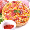 一組五個口味,滿足您每日所需的要求.夏威夷 + 海鮮  + 燻雞 + 素食夏威夷 + 總匯各二份