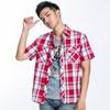 實穿易搭短袖基本款簡約風格穿出時尚潮流感型號:23005-53