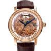 瑞士原裝自動機械機芯玫瑰金奔騰駿馬鏤空藝雕精鑲11顆南非真鑽時標全球限量錶款,達人必備收藏品