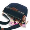 包包可側背、斜背可掛吊於單車橫桿上使用9號石蠟帆布搭配義大利進口牛皮