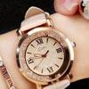 流動水鑽女錶正韓時尚韓版潮流女學生皮帶防水石英手錶