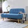 日本原裝品牌沙發北風小清新風格,極簡的設計適合小坪數配置自然橡木色腳