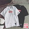 紅色布標BF短袖T恤-R1