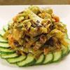 皇帝菜原名為貢菜,為古代皇宮佳餚。含高單位鈣、口感特別清脆,搭配黑木耳,豐富的口感,忍不住一口接一口