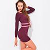 無縫3D按摩彈力*360度完美無側縫托胸、束腰、平腹、緊臂、纖體、保暖內容物:上衣1件。