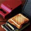 日本設計,三明治料理概念精緻小巧,簡單操作熱能快速傳導設計約3分鐘烤出美味可口三明治可...