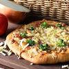 獨家特調風味義式香草紅醬使用天然酵母菌,無人工添加物培根、洋蔥、青花椰菜、乳酪絲,口口豐富滿足