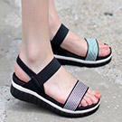 韓國連線厚底涼鞋