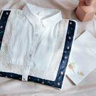 刺繡條紋襯衫-早春