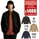 UNITED ATHLE 日本UA 防風 棒球外套 黑/卡其