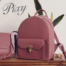 Pixy 硬派甜美學院風後背包