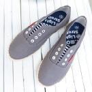 輕履麻灰休閒鞋