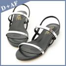 時尚代表作!一字造型涼鞋