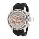 INVICTA 繩索系列 - 三眼計時腕錶(玫瑰金繩索)