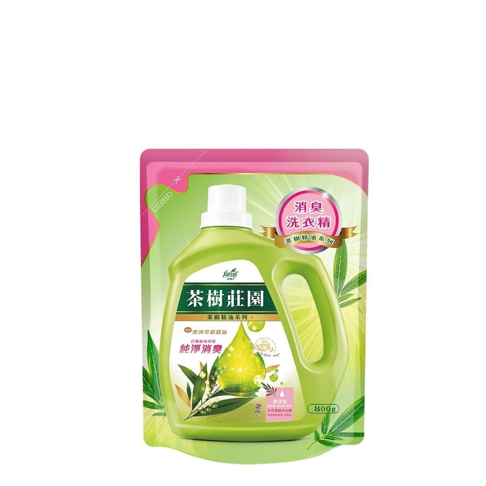 茶樹莊園 洗衣精補充包800g $1