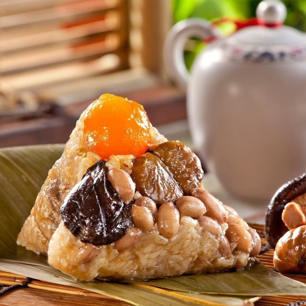 嘉義福源 栗子蛋黃花生香菇肉粽 $620