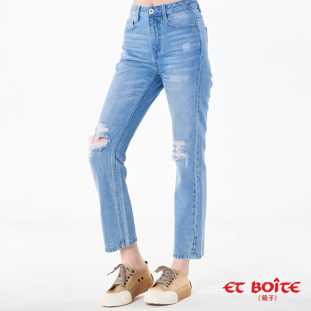 丹寧女褲 blueway ET BOITE 二件折1500