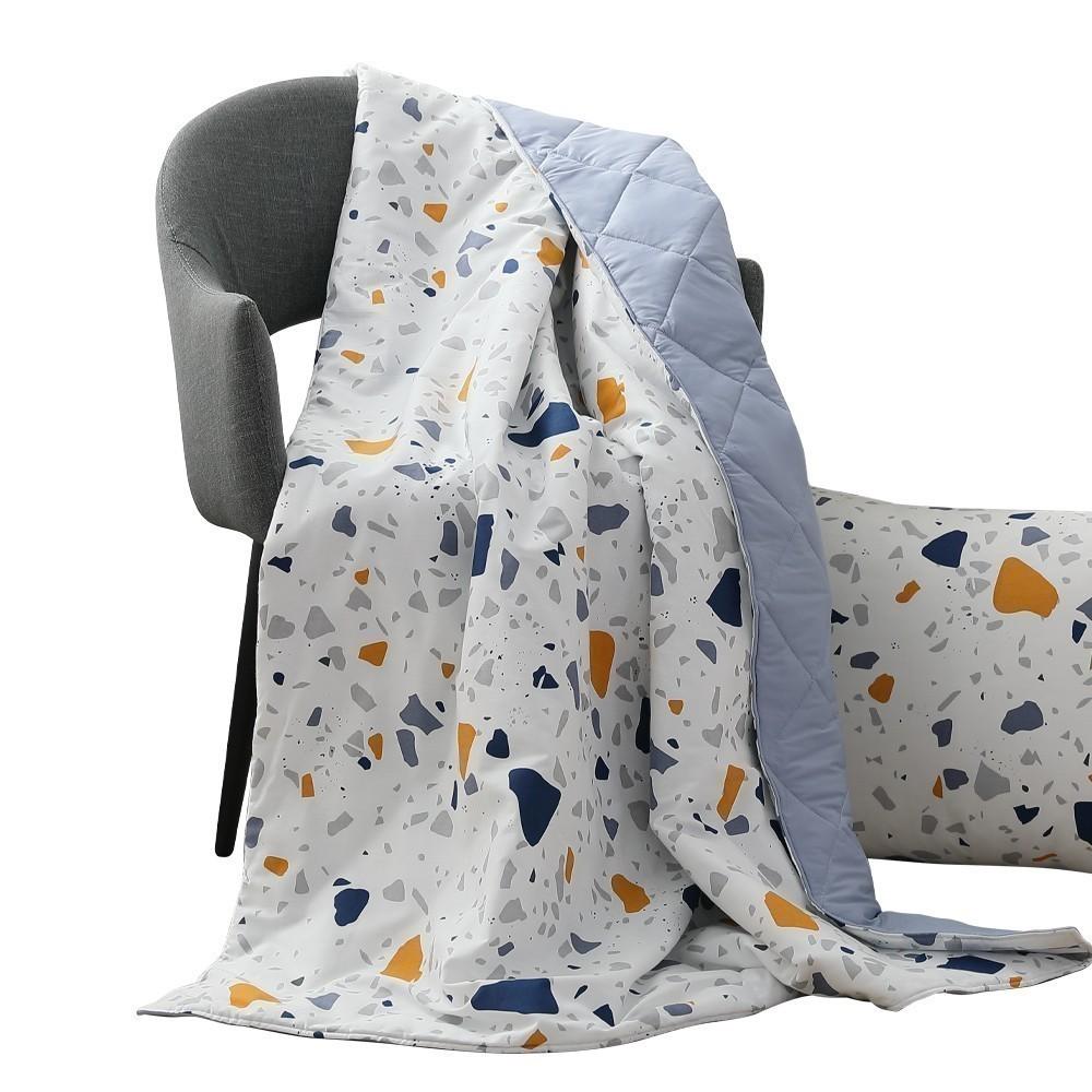 精梳純棉涼被 高品質涼感紗纖維 滿額加碼送好禮