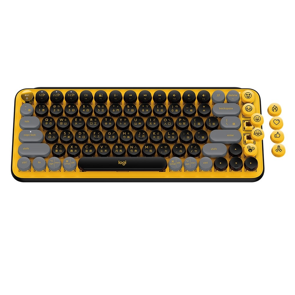 羅技新品 POP Keys 無線機械式鍵盤