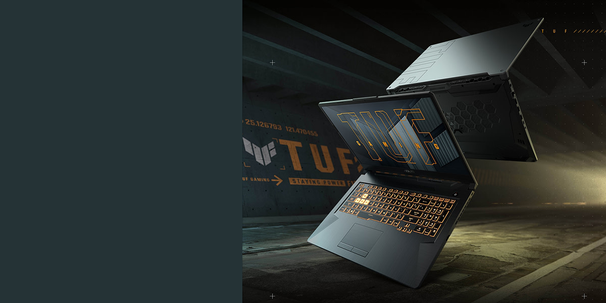 TUF電競筆電 買就送電競耳機