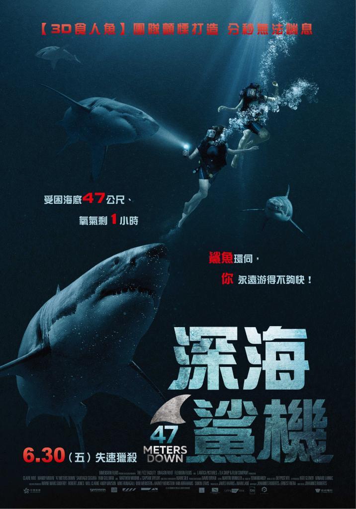 深海鯊機 47 Meters Down