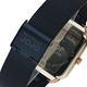 NATURALLY JOJO 數日子美好時光方型復刻米蘭帶錶-深藍/32mm product thumbnail 7