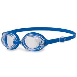 成人 基礎型泳鏡Kick 藍-透明