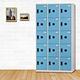 時尚屋 湯瑪斯多用途塑鋼製15格置物櫃 寬90x深35x高180cm product thumbnail 3