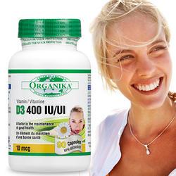 維生素D3軟膠囊400IU(90顆)