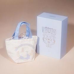 愛麗絲雪酪藍手提袋