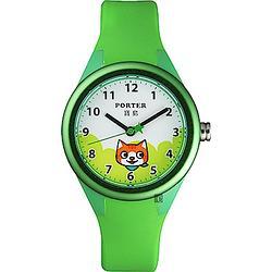 PORTER小貓錶-綠色