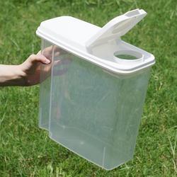 【加購品】寵物飼料零食透明儲存桶