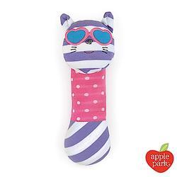 (贈品)美國 Apple Park 有機棉安撫啾啾棒 - 時尚靚貓