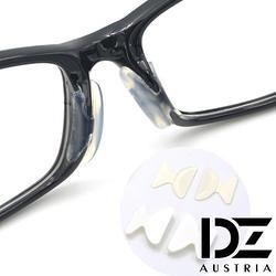 眼鏡防滑矽膠鼻墊(透明色-厚2.5mm) X 2付