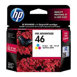 HP 46 三色原廠墨水匣
