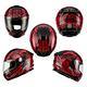 SOL SF-5 全罩式安全帽BABYLON巴比倫系列(消黑紅) product thumbnail 6