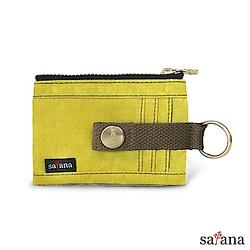 繽紛卡片夾/零錢包 - 檸檬香茅