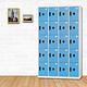 時尚屋 克里門多用途塑鋼製20格置物櫃 寬119x深40x高180cm product thumbnail 3
