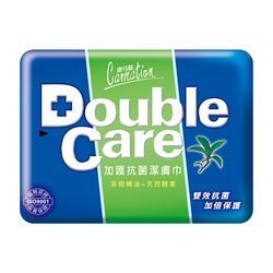 康乃馨 Double Care抗菌濕巾 20片/包