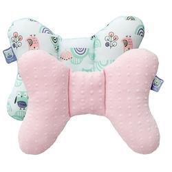 豆趣護頸枕-粉色(推車汽座專用)