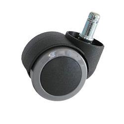 (隨貨附上或更換)木質地板專用PU壓力輪