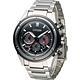 CITIZEN 星辰 Eco-Drive 超級鈦紳士計時腕錶-黑/43mm product thumbnail 2