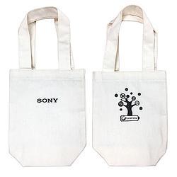 SONY 棉麻環保小提袋 / 飲料袋