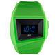 ALESSI 線條結構立體電子腕錶-黑x綠/45mm product thumbnail 2