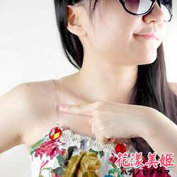 內衣透明肩帶 加購(1對) 1cm加厚磨砂 耐穿