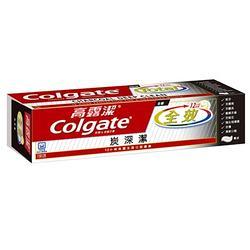 (加購)高露潔全效牙膏 炭深潔 150g