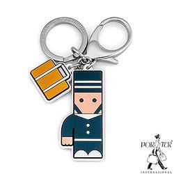 PORTER - 人型吊飾鑰匙圈-希臘藍