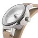 MANGO 俏麗佳人小錶面晶鑽雙圈錶帶腕錶-杏/24mm product thumbnail 3