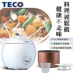 TECO東元 小蘋果厚釜迷你電子鍋YC0401CB