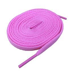低筒鞋專用-粉紅色鞋帶(扁帶)-無商品尺寸